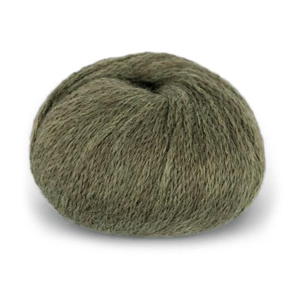 Du Store Alpacka Hexa Garn 50 g Oliv 930