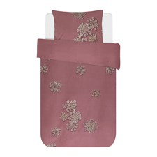 Essenza Home Lauren Påslakanset 100% Bomull 150x210 + 50x60 cm Dusty Rose