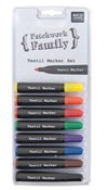 Textilpennor Basic 8 Färger