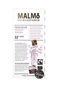 Malmö Chokladfabrik Tegelserien Choklad Vilda Hallon 52% 80 g (14550)