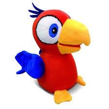Charlie Talkie, Talande papegoja