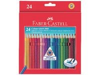 Färgpennor Akvarell Faber-Castell Grip Color 24-pack