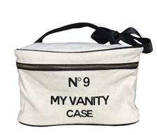 Bag-all Beauty Box Large Necessär 28x20x15 cm Svart/Vit