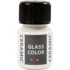 Glass Ceramic, 35 ml, hvit