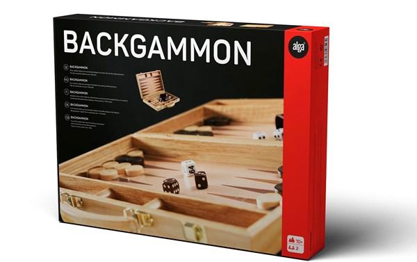 Backgammon, Alga (SE/FI/NO/DK/EN)