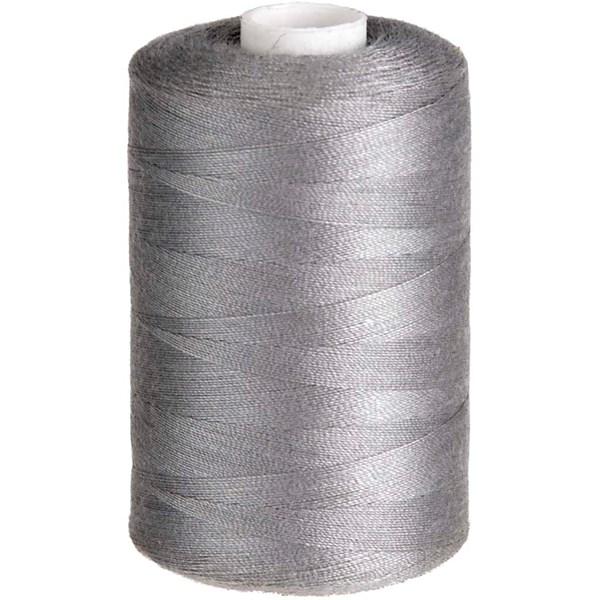 Sytråd Polyester 1000 m Grå