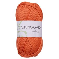 Viking of Norway Bamboo 50 gr Oransje 651