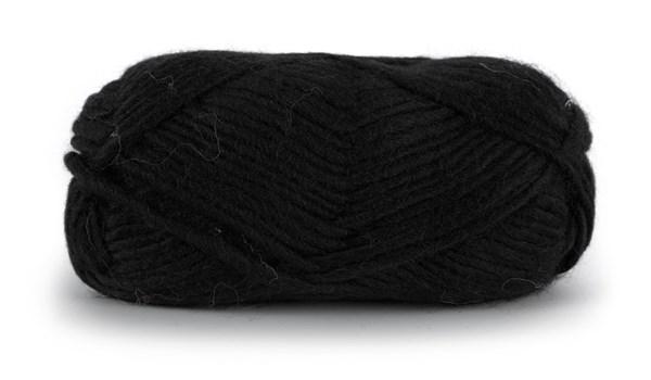 Knit At Home Felting Wool Ullgarn 50 g Svart 801