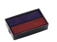 Leimasinvärikasetti COLOP E10 punainen/sininen (2 kpl)