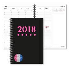 Kalender 2018 Burde Business A5 Year