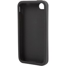 Mobilskal till broderi, stl. 11,8x2,4 cm, tjocklek 4,3 mm, 1 st., svart