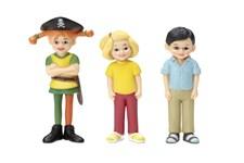 Pirat-Pippi, Tommy og Annika
