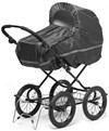 Regnskydd för enkelvagn, Svart, Babytrold
