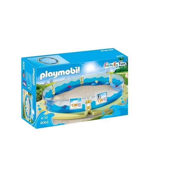 Akvarium bassäng  Playmobil Family Fun (9063) - playmobil