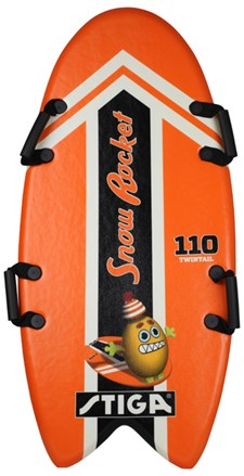 Foam Board Snow Rocket 110 cm Twintail, Oransje, Stiga