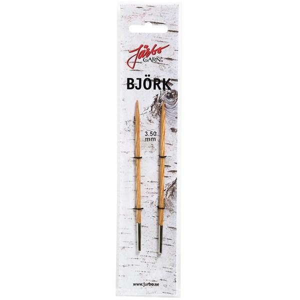 Strikkepinner med endestykke 5,0mm