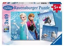 Disney Frozen, 3x49 palaa, Ravensburger