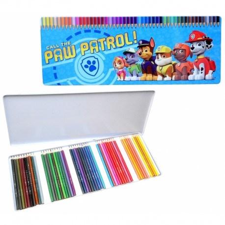 Färgpennor 50 st  Paw Patrol - färgpennor