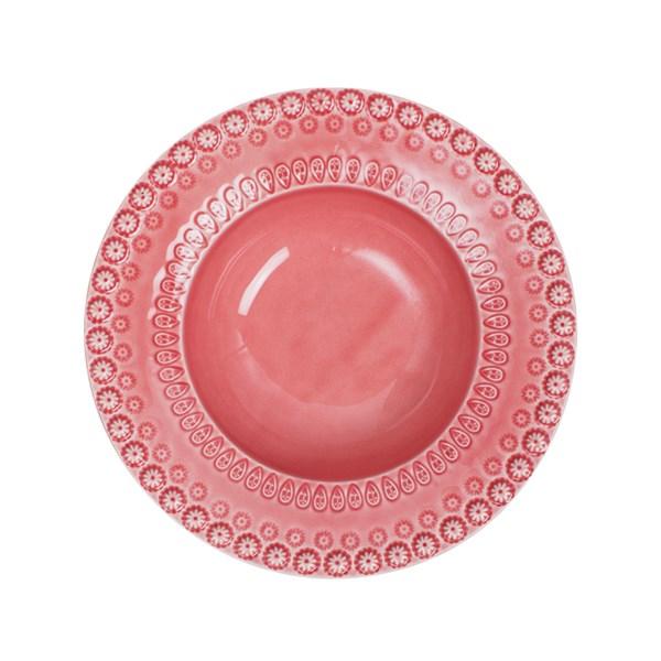 PotteryJo Daisy Djup Tallrik 21 cm rosa - tallrikar & skålar