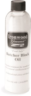 Ironwood Gourmet Butcher Block Oil Leikkuulautaöljy 236 ml