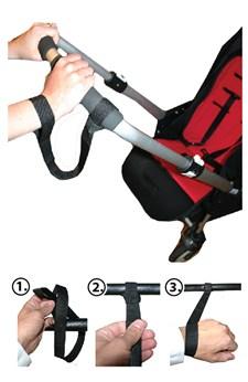 Handledsrem för barnvagn, AddBaby