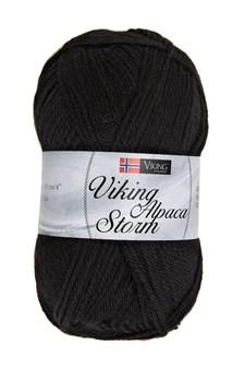 Viking of Norway Alpaca Storm 50 gr musta