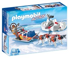 Huskyslede, Playmobil Action (9057)