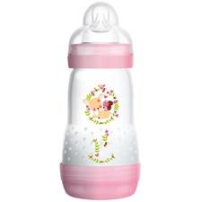 Nappflaska Anti Colic Bottle 260ml, Rosa, MAM