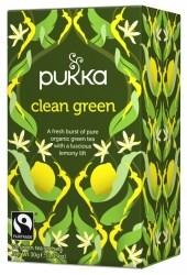 Pukka Te Clean Green Tepåsar 20 st Ekologisk