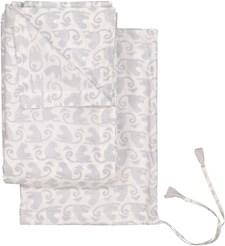 RevaHome Laken MONKEY Rustic Grey 100% ökologisk bomulls percale 160X260 cm Grå