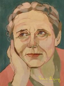 Porträtt Doris Lessing Poster A4