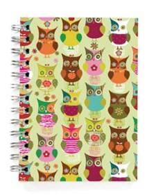 Owls Green -muistikirja