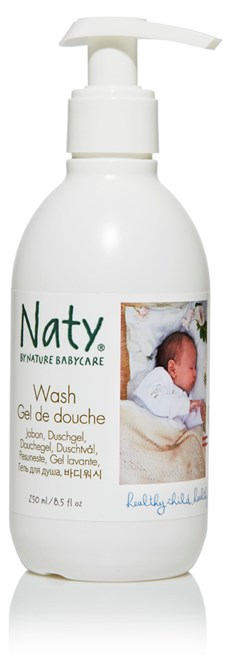 Nature Babycare Shower Gel, 250ml, Naty
