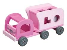 Klosslastbil,Rosa, Kids Concept