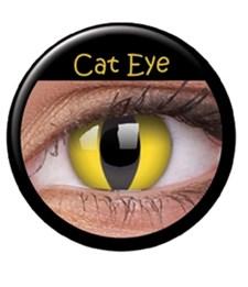Fargede linser katteøyne