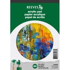 Tegneblokk Akrylfarge Reeves A5