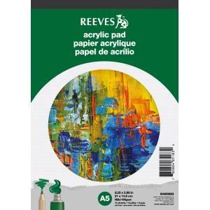 Ritblock Akrylfärg Reeves A5