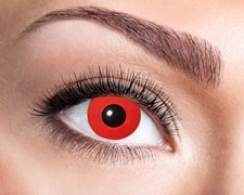 Färgade linser Red Devil