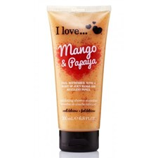 I Love... Mango & Papaya Exfoliating Shower Smoothie 200ml