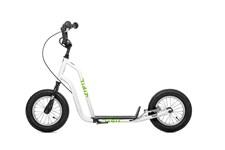 Yedoo Tidit vit sparkcykel med lufthjul