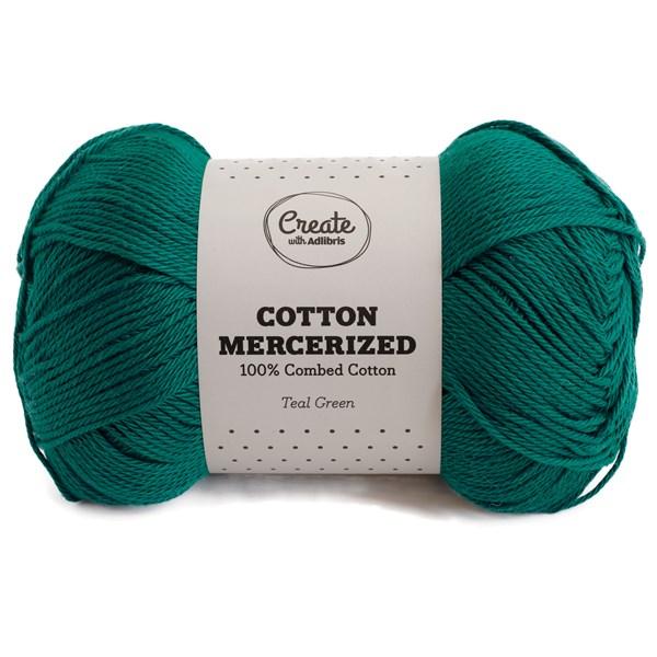 Adlibris Cotton Mercerized 100g Teal Green A317