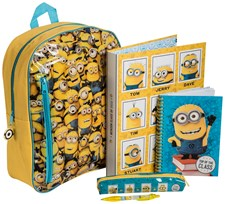 Filled Backpack Set, Minions