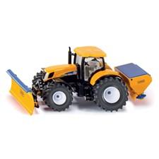 Siku, Traktor med plog och skopa, 1:50
