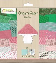 Origami-paperi, puutarha