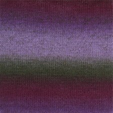 Drops Delight Print Lanka Villasekoitus 50g Purple/Green 14
