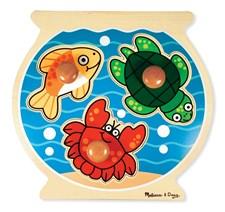 Knoppussel 3 bitar, Fiskskål, Melissa & Doug