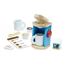 Wooden Brew & Serve Coffee Set, Kaffemaskin, Melissa & Doug