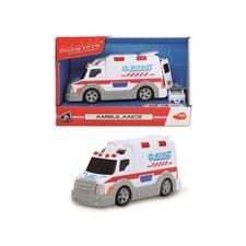Ambulanse med lyd og lys, 15 cm, Dickie Toys