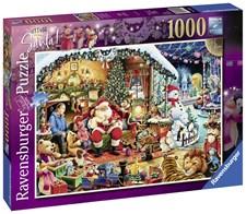 Lets visit Santa, Pussel 1000 bitar, Ravensburger