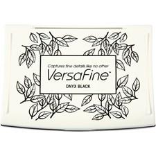VersaFine leimasintyyny, koko 9x6x2 cm, 1 kpl, musta